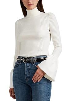 Alexander Wang Women's Cotton Bell-Sleeve Sweater