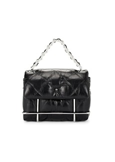 Alexander Wang Women's Halo Leather Crossbody Bag - Black
