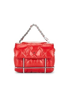 Alexander Wang Women's Halo Leather Crossbody Bag - Red