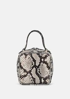 Alexander Wang Women's Halo Snakeskin-Stamped Leather Bag