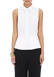 Alexander Wang Women's Laced-Peplum Shirt