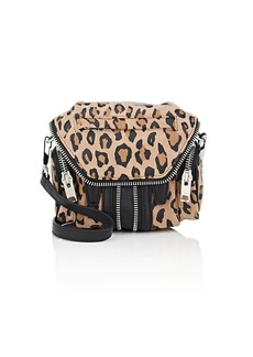 Alexander Wang Women's Micro Marti Crossbody Bag - Leopard