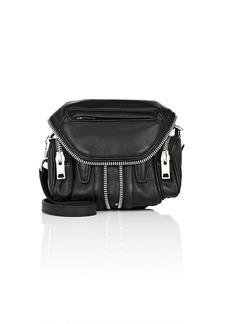 Alexander Wang Women's Micro Marti Leather Crossbody Bag - Black