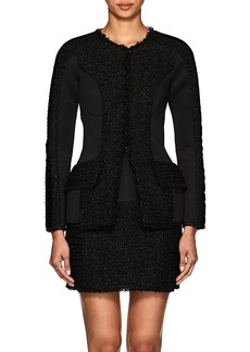 Alexander Wang Women's Neoprene & Tweed Slim Jacket