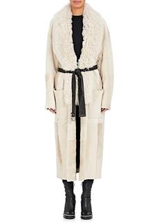 Alexander Wang Women's Shearling Wrap Coat