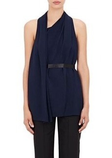 Alexander Wang Women's Sleeveless Wrap-Front Top