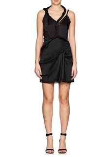 Alexander Wang Women's Twisted-Strap Stretch-Silk Charmeuse Dress