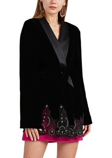 Alexander Wang Women's Velvet Robe Jacket