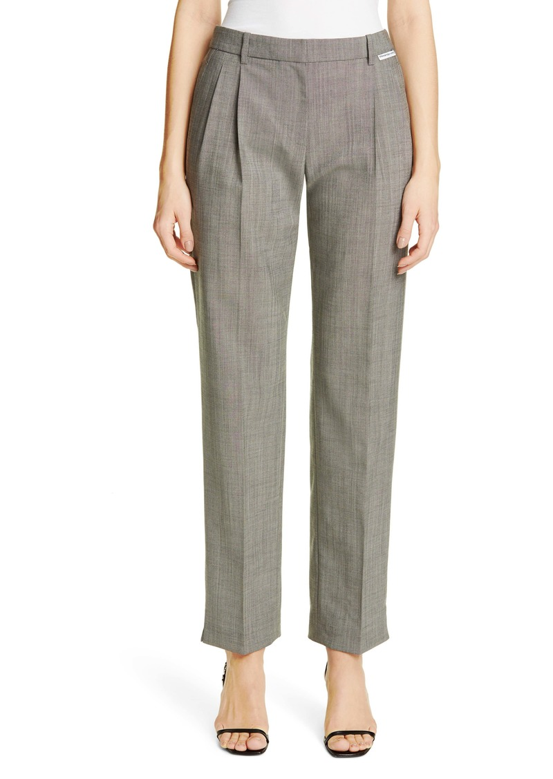 Alexander Wang Wool & Mohair Blend Trousers