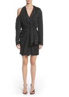 Alexander Wang Zip Detail Pajama Dress