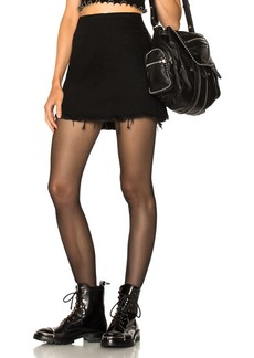 Alexander Wang Zip Mini Skirt