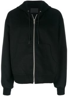 Alexander Wang zip up hoodie - Black