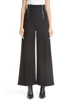 Alexander Wang Zipper Detail Wide Leg Pants