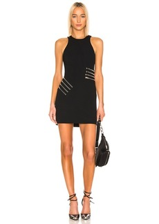 Alexander Wang Zipper Waist Mini Dress