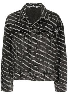 Alexander Wang all-over logo-print jacket