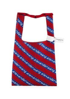 Alexander Wang Americana Knit Jacquard Shopper Tote Bag