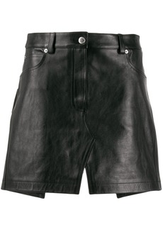 Alexander Wang apron mini skirt