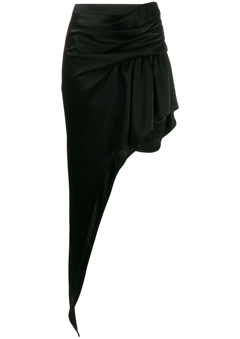 Alexander Wang asymmetric floor-length skirt