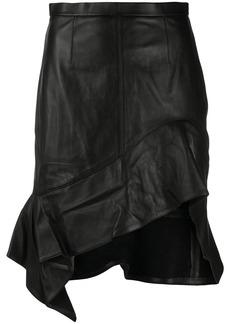 Alexander Wang asymmetric hem skirt