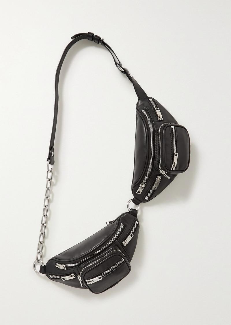 Attica Double Leather Belt Bag