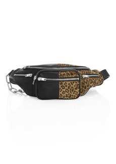 Alexander Wang Attica Leopard Print Leather Fanny Pack