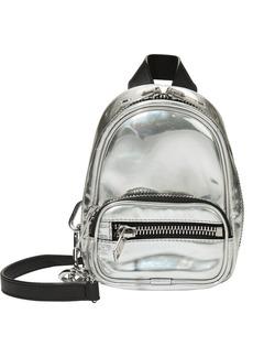 Alexander Wang Attica Silver Backpack Bag
