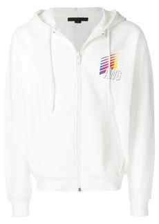 Alexander Wang AWG zipped hoodie