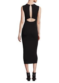 Alexander Wang Back Cutout Sleeveless Dress