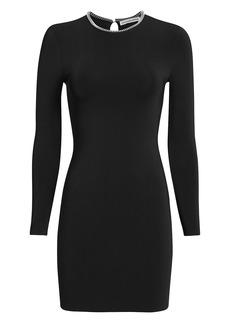 Alexander Wang Ball Chain Black Mini Dress