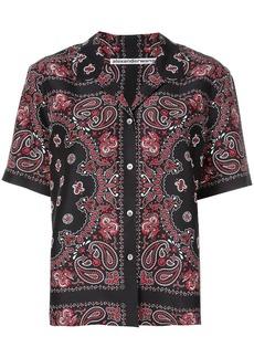 Alexander Wang bandana print shirt
