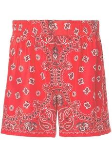 Alexander Wang Bandana print shorts