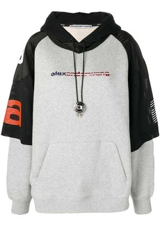 Alexander Wang bi-layer logo sweatshirt