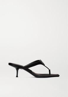 Alexander Wang Bianca Embellished Satin Sandals