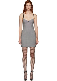 Alexander Wang Black & White Houndstooth Dress
