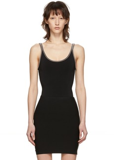Alexander Wang Black Ball Chain Tank Top