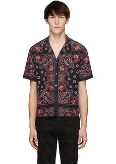 Alexander Wang Black Bandana Print Hawaiian Shirt