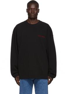 Alexander Wang Black 'Chynatown' Sweatshirt