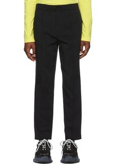 Alexander Wang Black Cotton Trousers