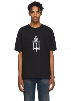Alexander Wang Black Graphic T-Shirt