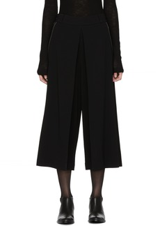 Alexander Wang Black High Waisted Folded Trousers