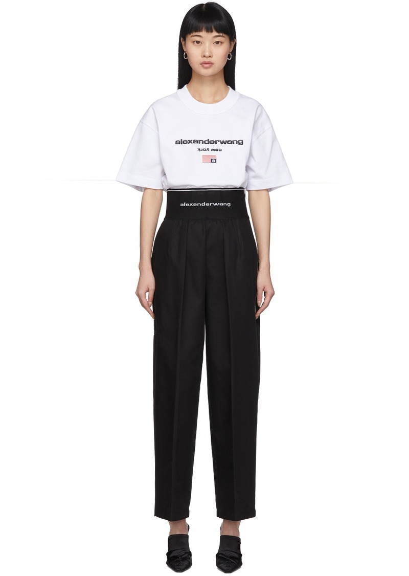 Alexander Wang Black High-Waisted Trousers