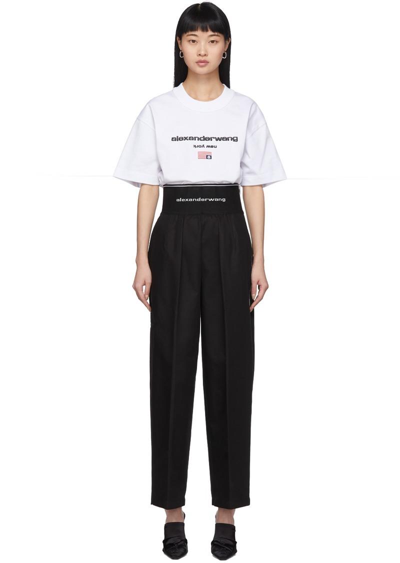 Alexander Wang Black High-Waisted Trousers