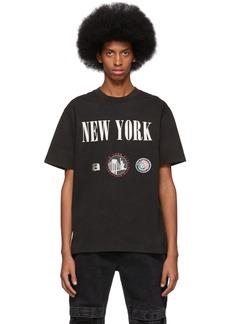 Alexander Wang Black 'New York' Souvenir T-Shirt