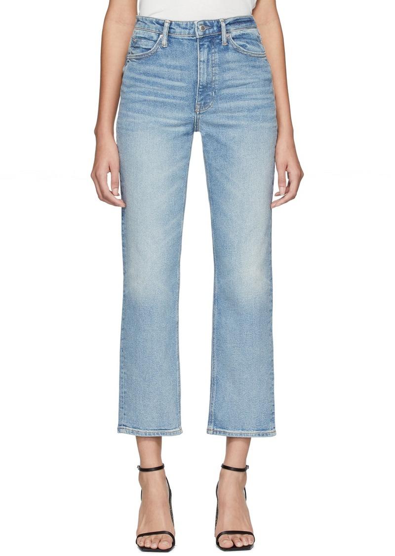 Alexander Wang Blue Cult Flex Jeans