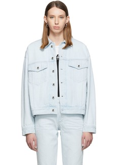 Alexander Wang Blue Denim Game Jacket