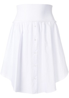 Alexander Wang button up skirt