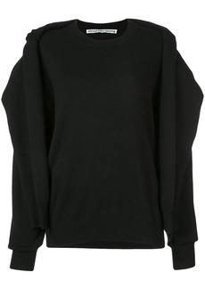Alexander Wang cardigan sweatshirt