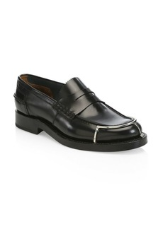 Alexander Wang Carter Leather Penny Loafers