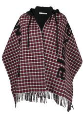 Alexander Wang checked intarsia-knit scarf