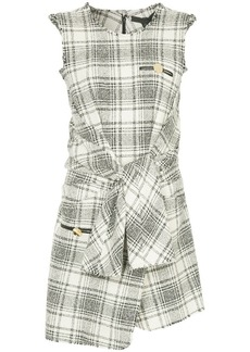 Alexander Wang checked sleeveless dress